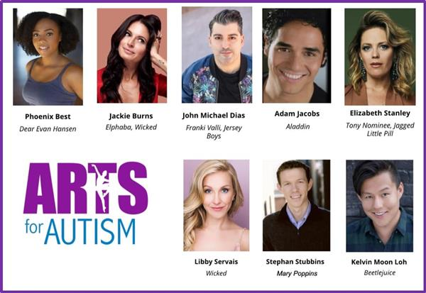 ARTS FOR AUTISM -Virtual Event Featuring FHS Dance Co. Students & Broadway Stars