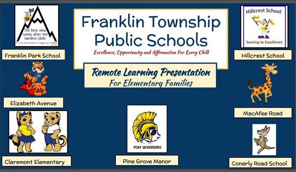 Elementary Schools - Town Hall Presentations