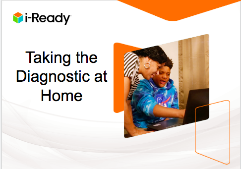 iReady: Administering the Diagnostic at Home