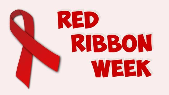 Red Ribbon Week Information- October 26-30