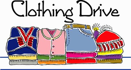 Used Clothing Drive (Sponsored by Project Graduation)