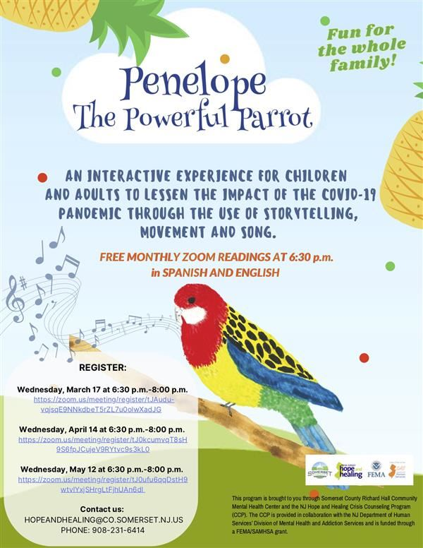 Penelope The Powerful Parrot Flyer