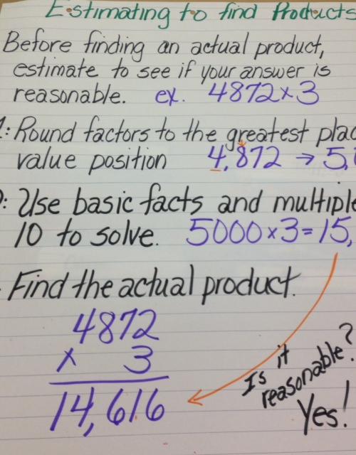 Free Worksheets adding mixed fractions worksheets : Rowe, Kim / Math Anchor Charts