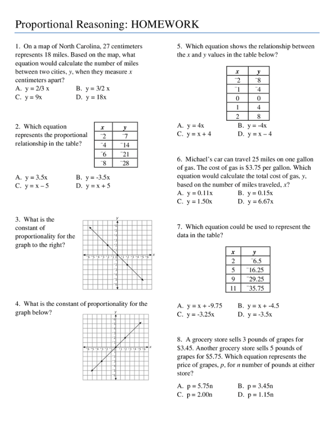 math worksheet : grade 8 math proportional reasoning worksheets  worksheets : Math Reasoning Worksheets