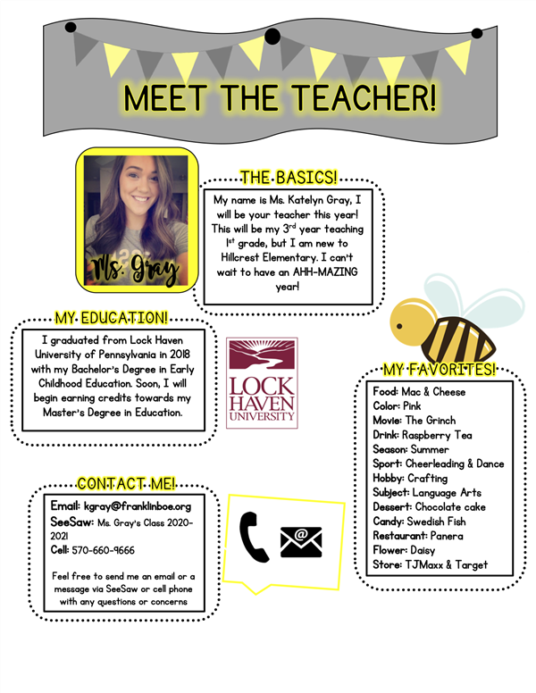 Meet The Teacher